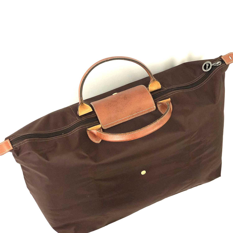 Bolsa Longchamp Le Pliage Marrom Grande