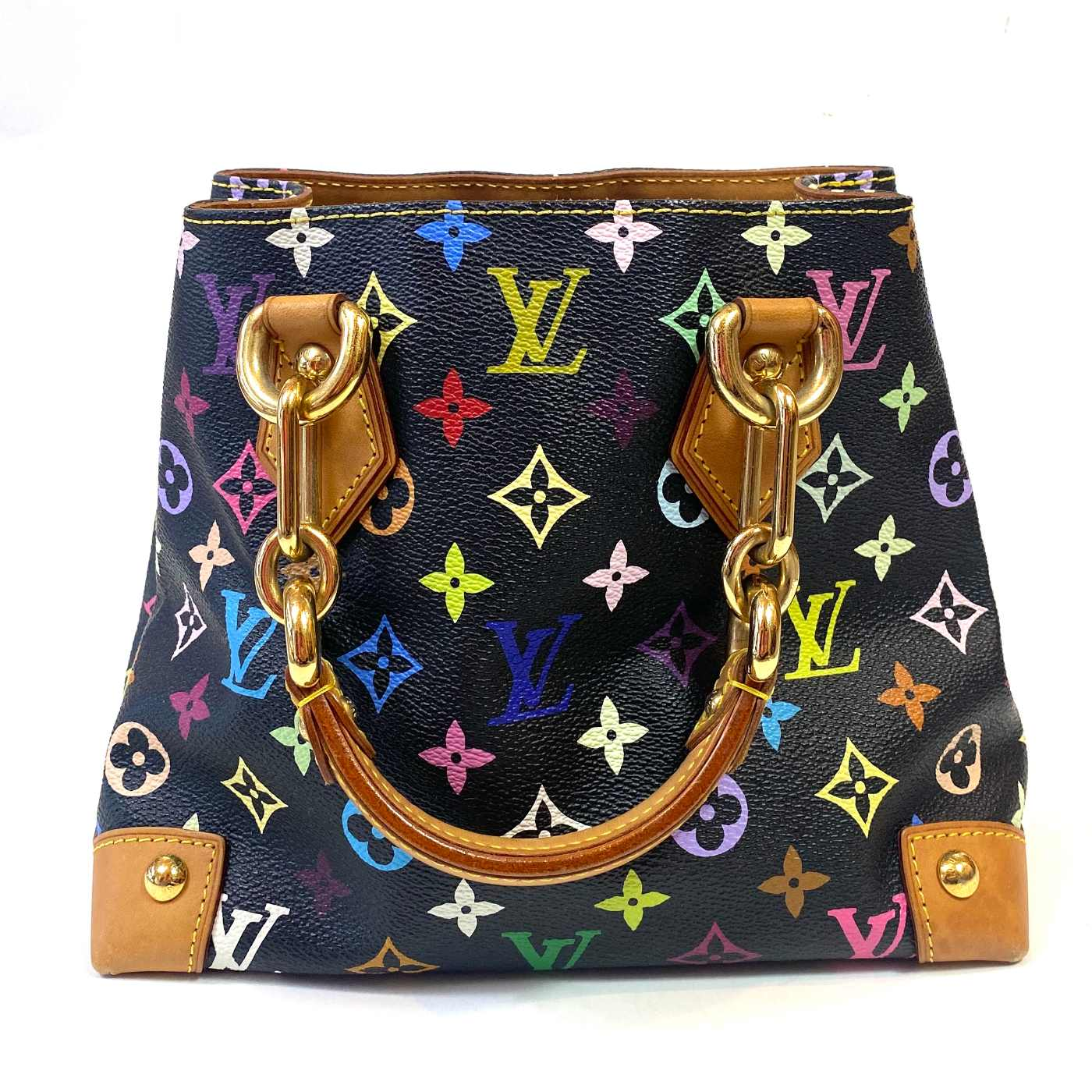 Bolsa Louis Vuitton Audra Black Multicolore