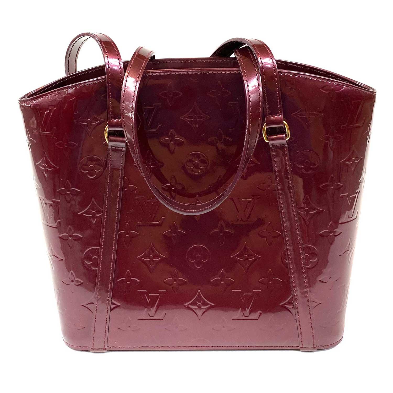 Bolsa Louis Vuitton Avalon Verniz Vinho