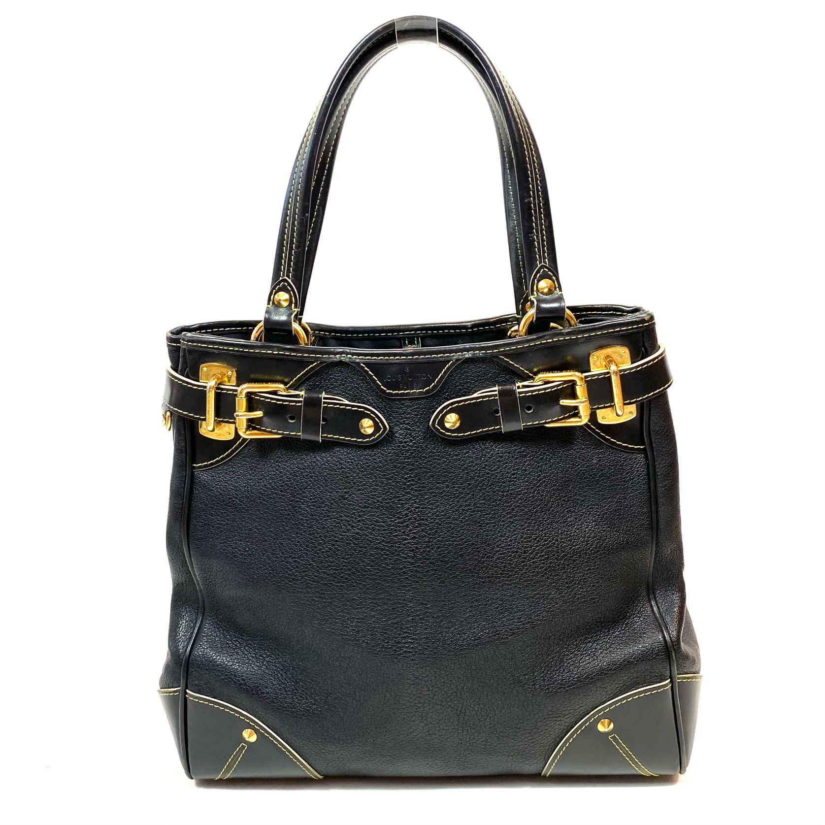Bolsa Louis Vuitton Le Majestueux Tote Preta
