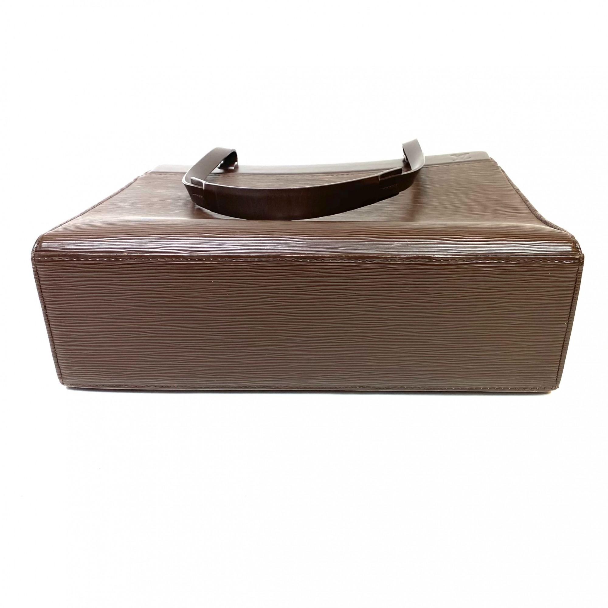 Bolsa Louis Vuitton Croisette Epi Marrom