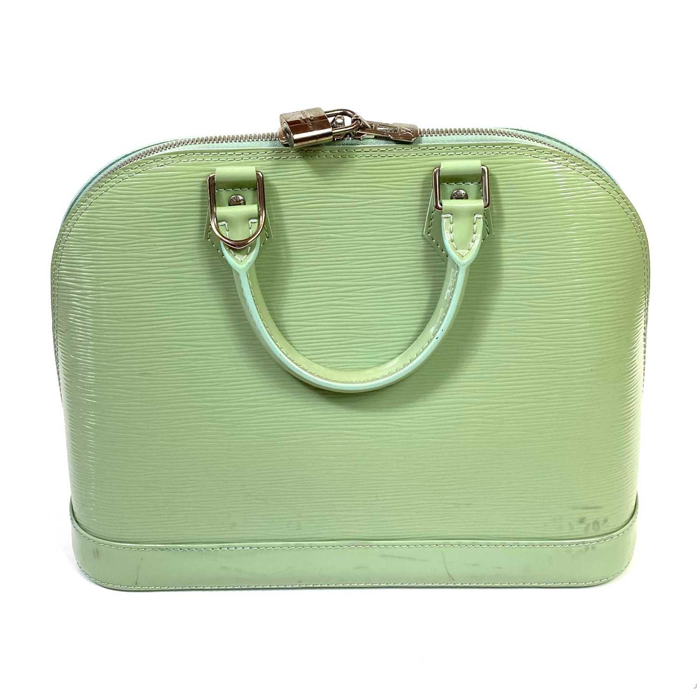 Bolsa Louis Vuitton Alma Epi Verde