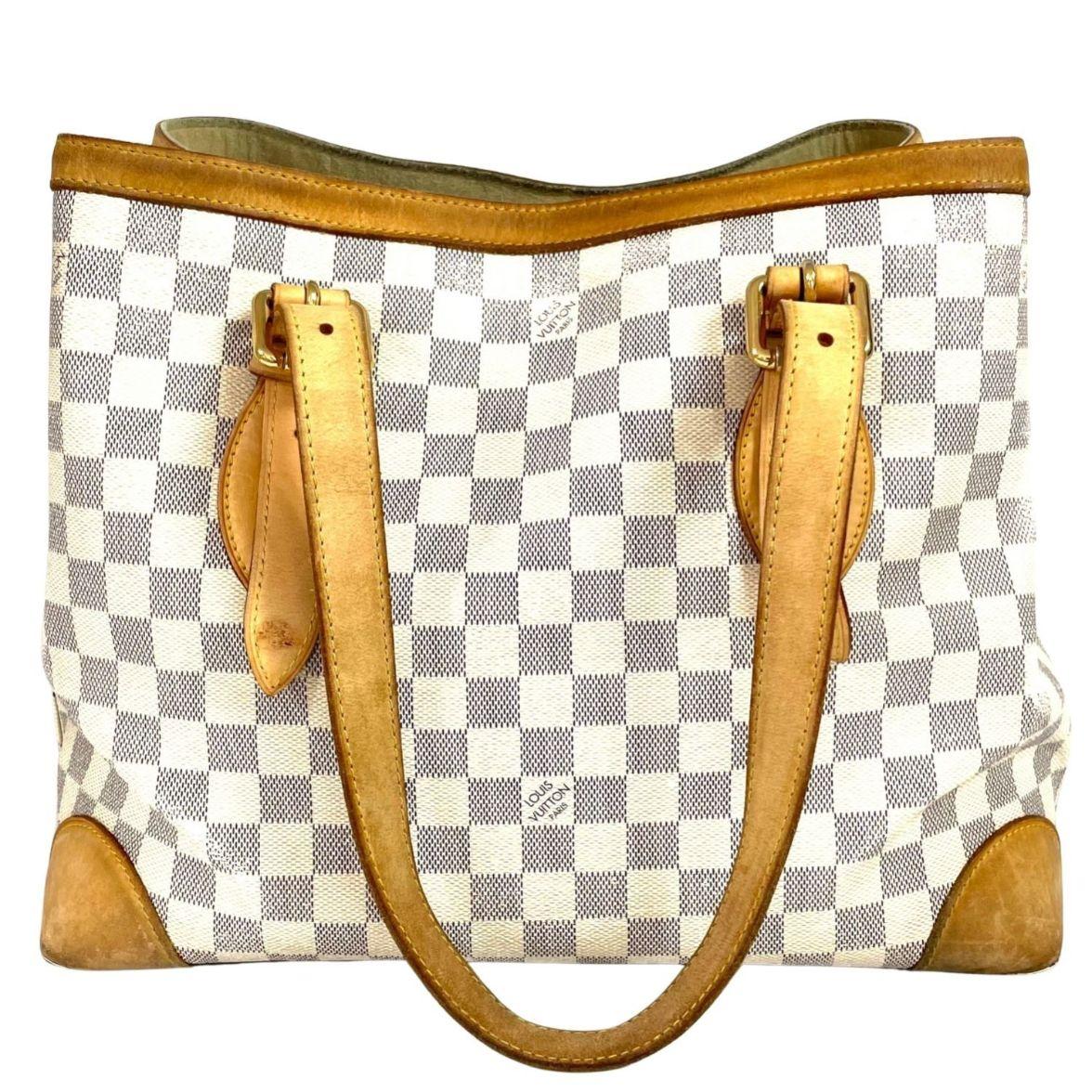 Bolsa Louis Vuitton Hampstead MM Damier Azur