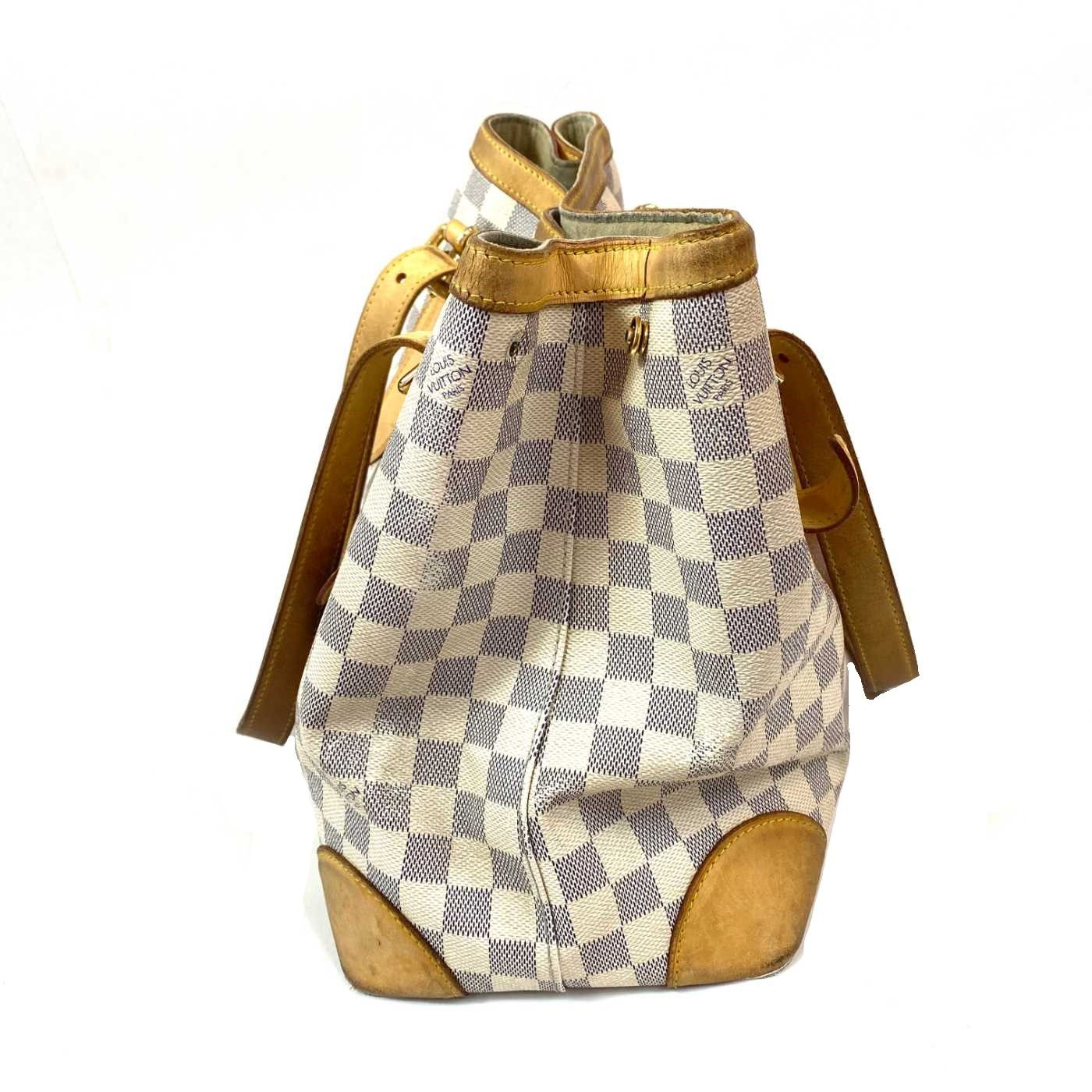 Bolsa Louis Vuitton Hampstead MM Damier Azur