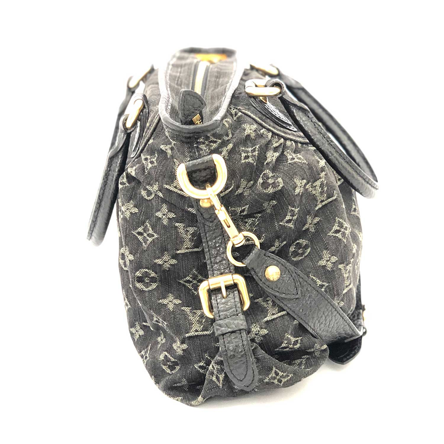 Bolsa Louis Vuitton Neo Cabby MM Preta Denin