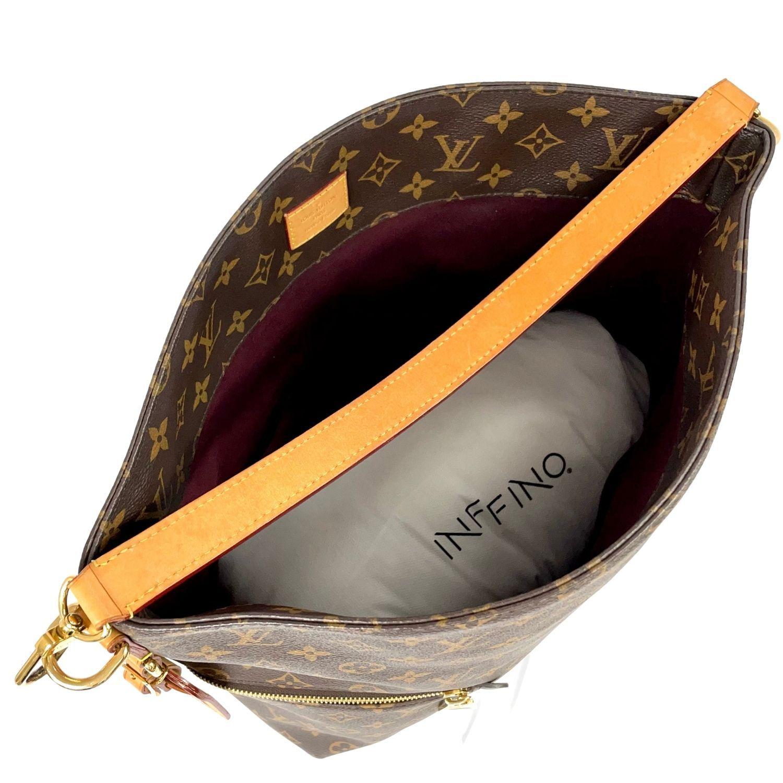 Bolsa Louis Vuitton Mélie Hobo Monograma