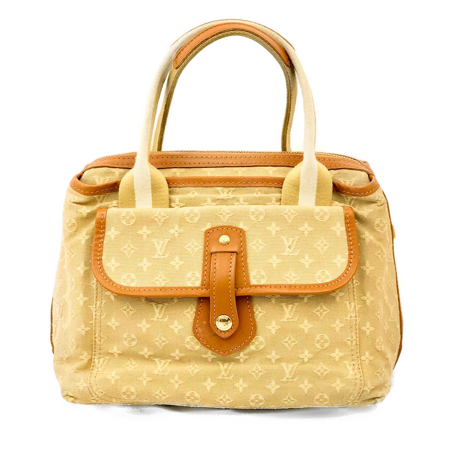 2a06b9ce2 Bolsa Louis Vuitton Mini Lin Beige