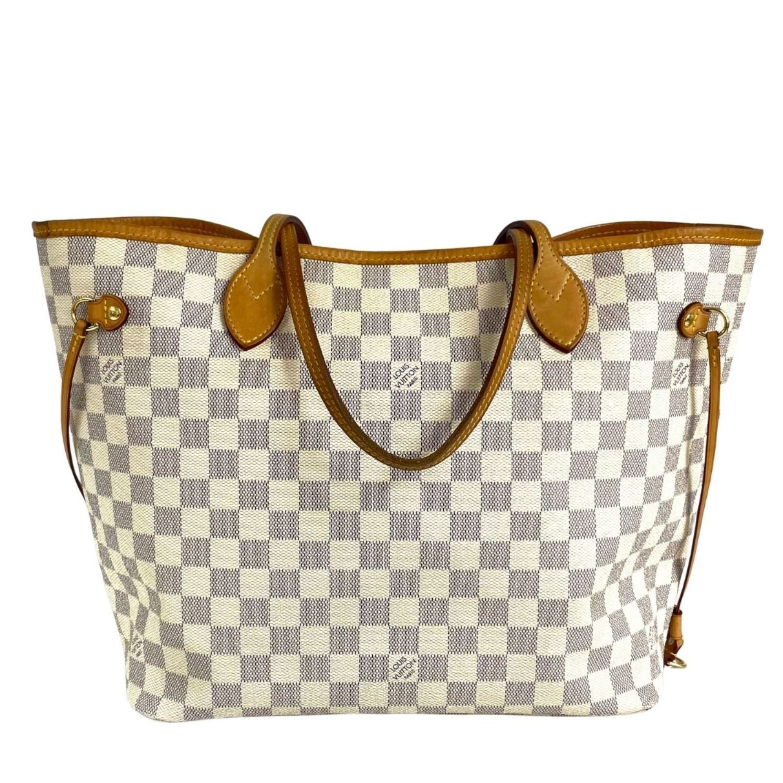 Bolsa Louis Vuitton Neverfull Damier Azur MM