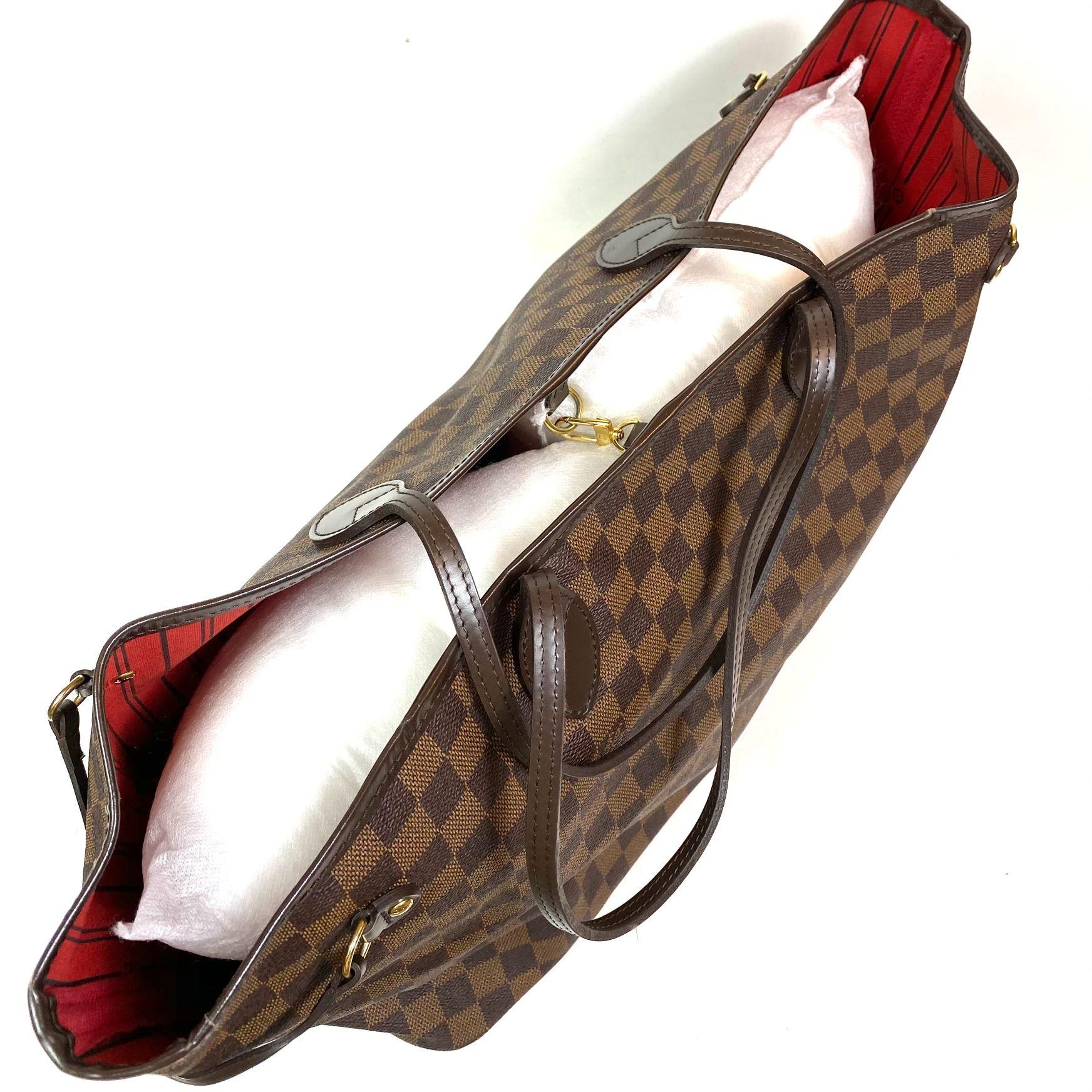 Bolsa Louis Vuitton Neverfull Damier Ebene GM