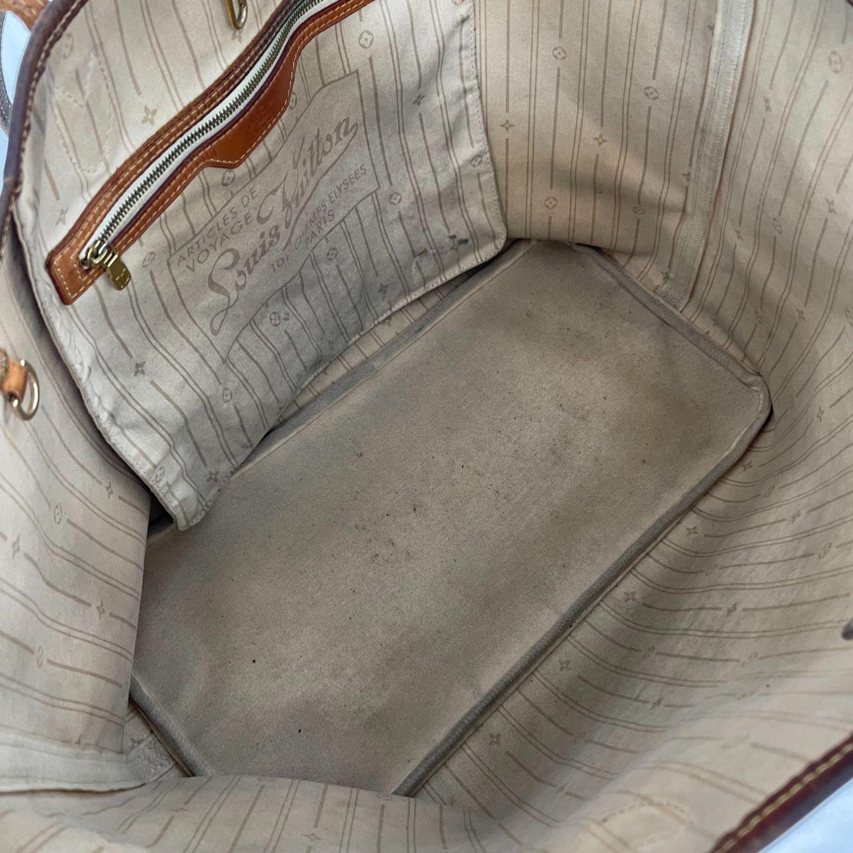 Bolsa Louis Vuitton Neverfull GM Damier Azur