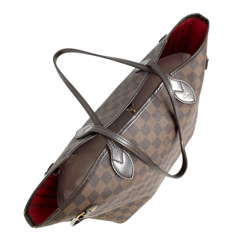 Bolsa Louis Vuitton Neverfull MM Damier Ebene