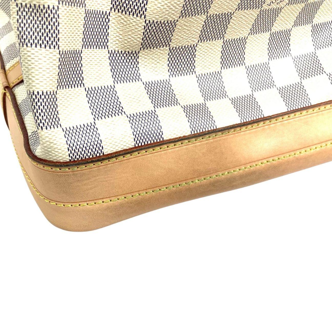 Bolsa Louis Vuitton Noé Damier Azur