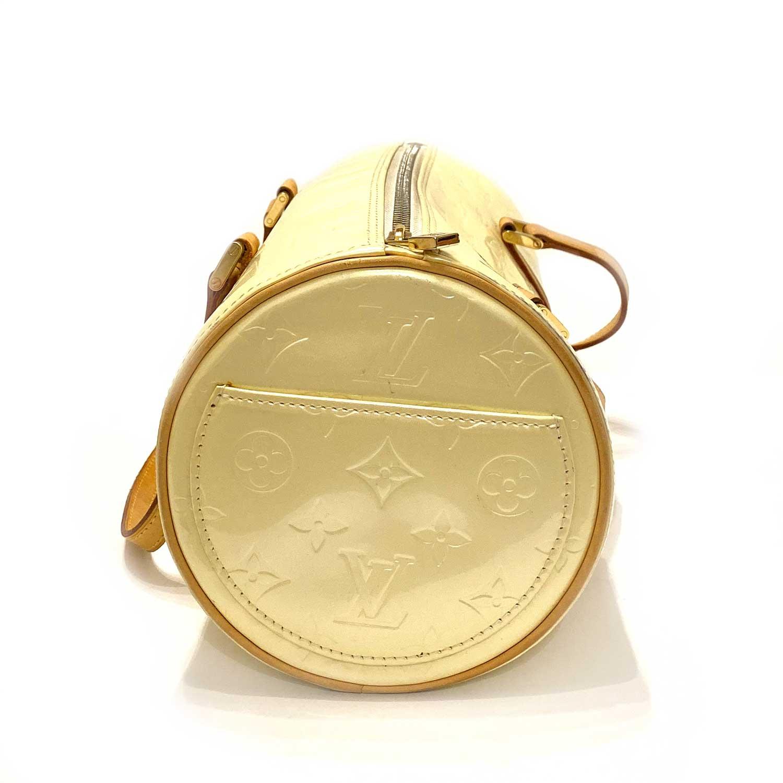 Bolsa Louis Vuitton Papillon Monograma Verniz Pérola
