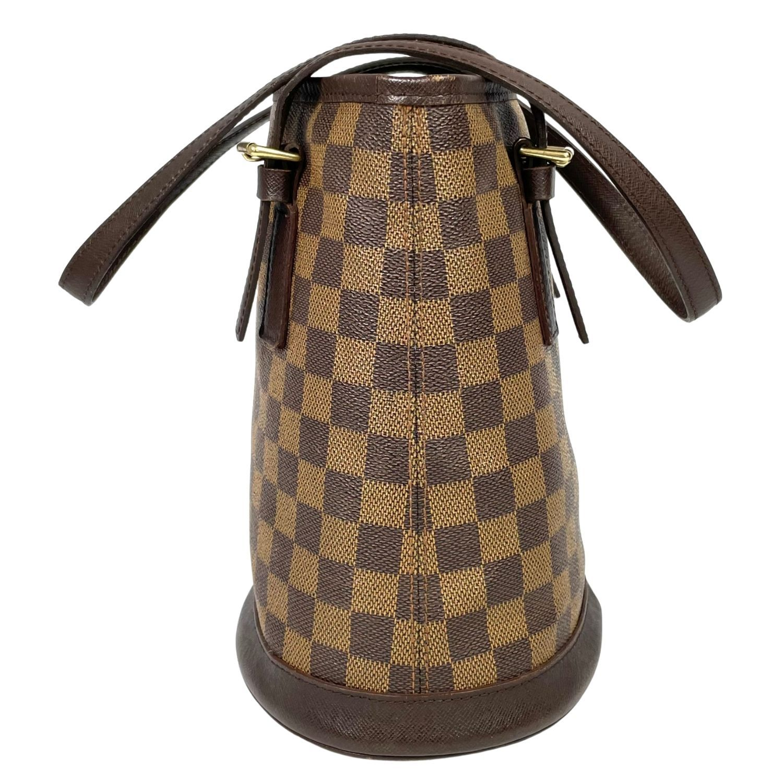Bolsa Louis Vuitton Petit Bucket Damier Ebene