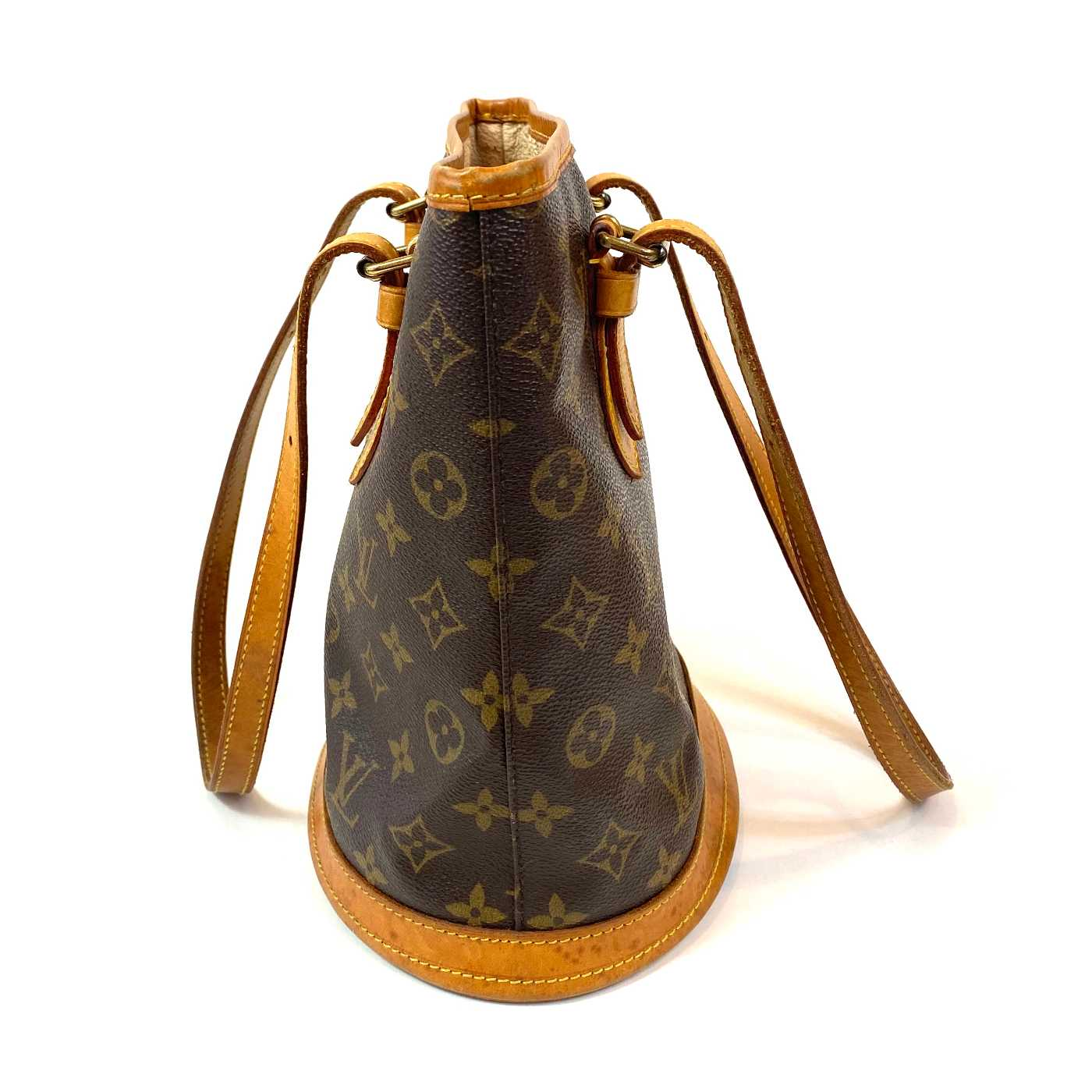 Bolsa Louis Vuitton Petit Bucket Monograma