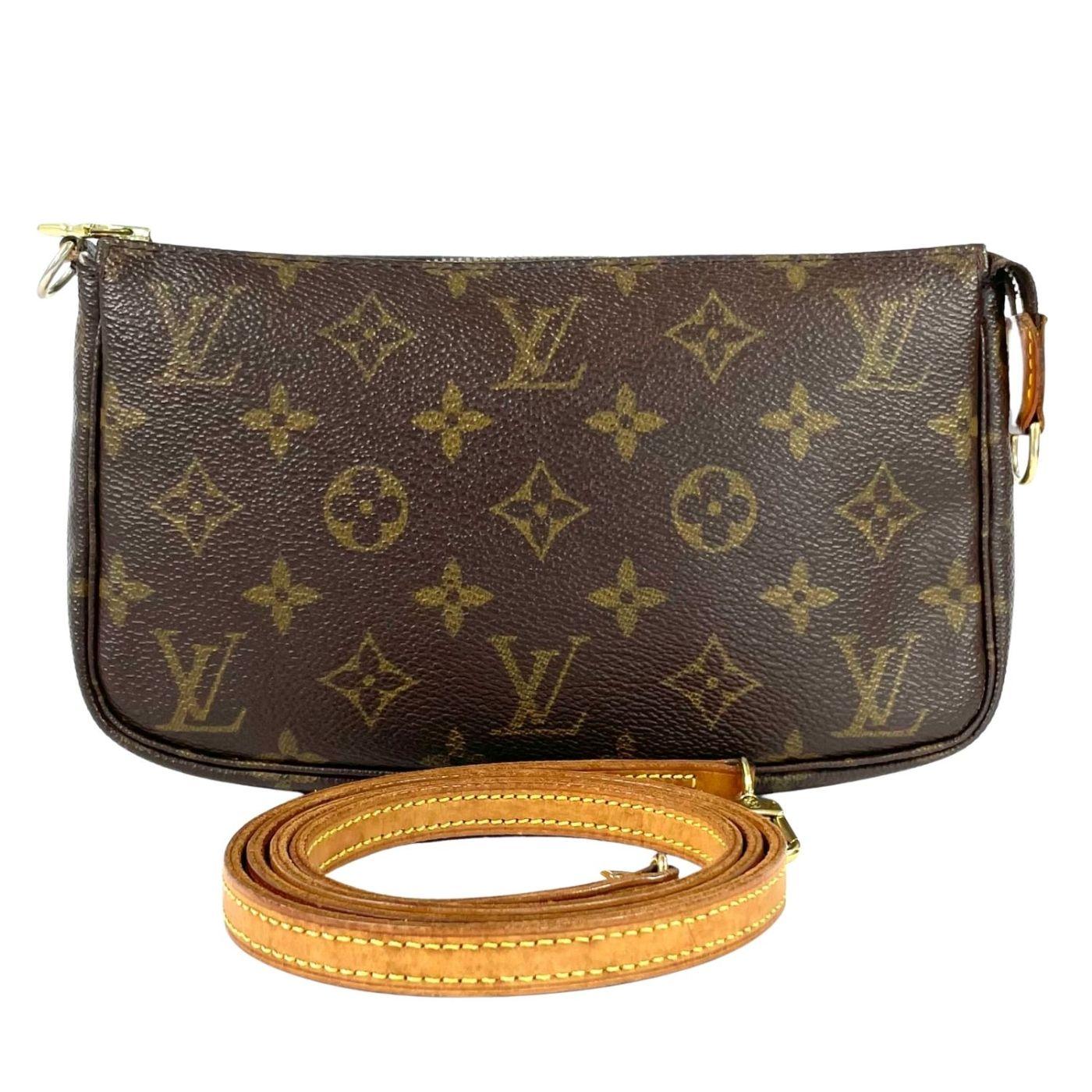 Bolsa Louis Vuitton Pochette Accessories Monograma