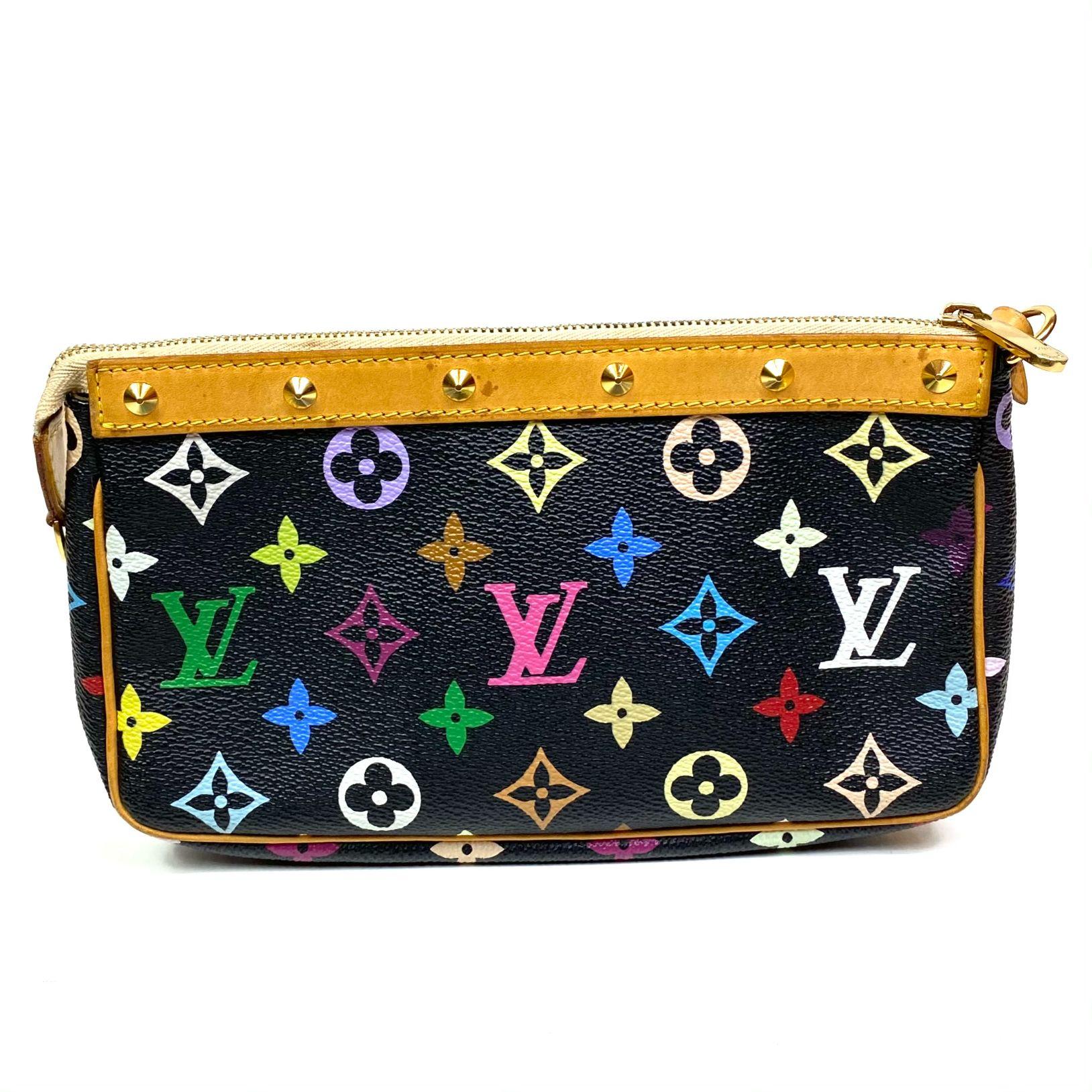 Bolsa Louis Vuitton Pochette Accessories Multicolore