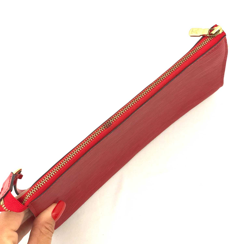 Bolsa Louis Vuitton Pochette Epi Vermelha