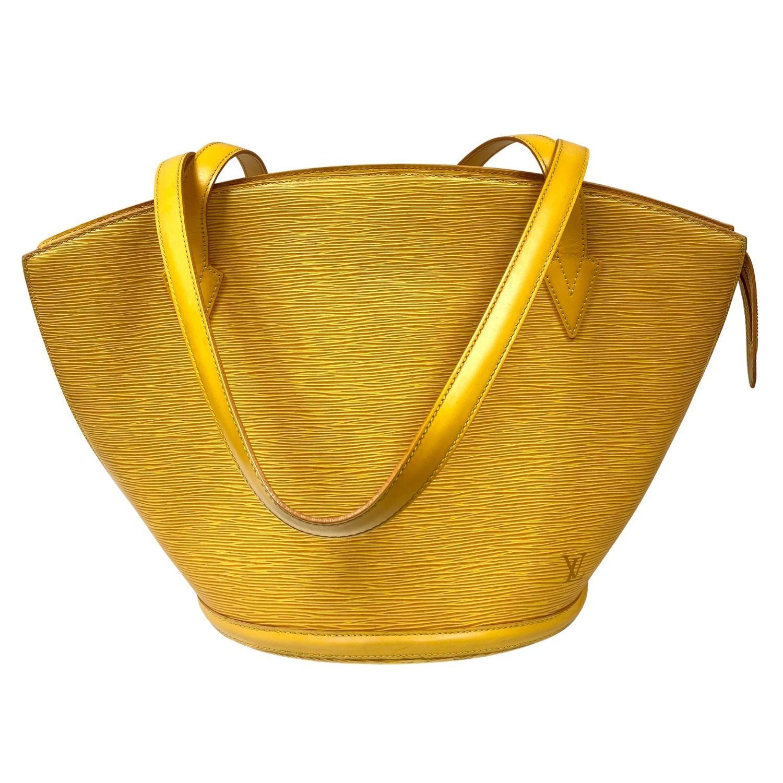 Bolsa Louis Vuitton Saint Jacques MM Amarela
