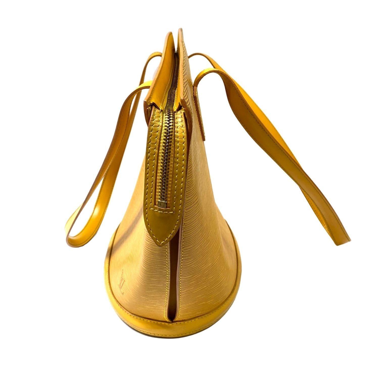 Bolsa Louis Vuitton Saint Jacques MM Epi Amarela