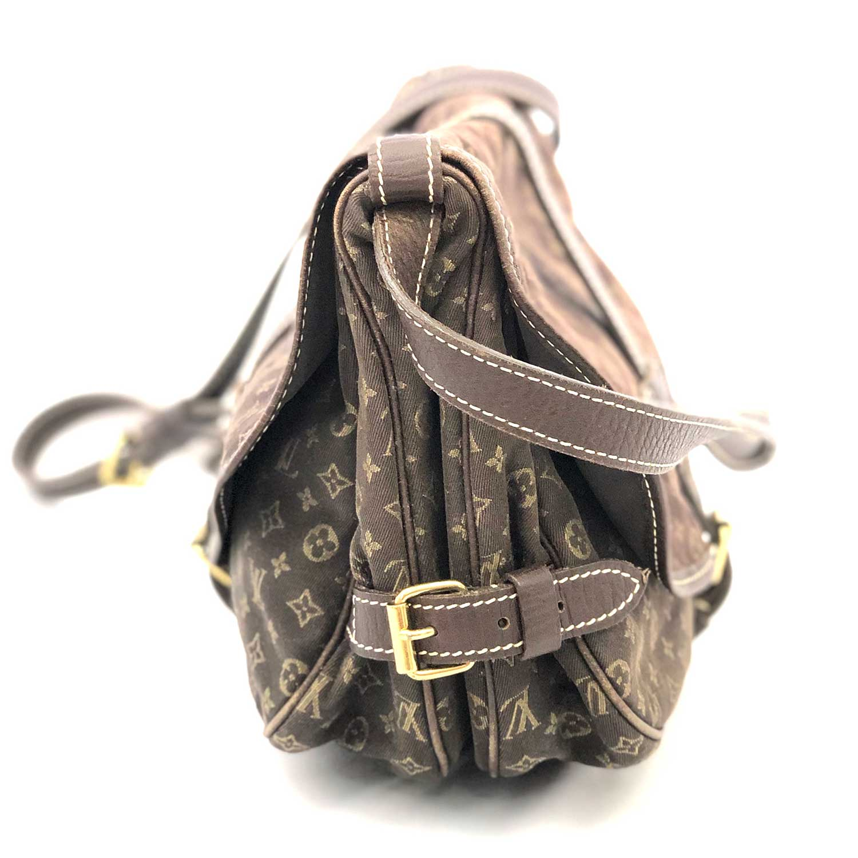 Bolsa Louis Vuitton Saumur MM Minilin Marrom