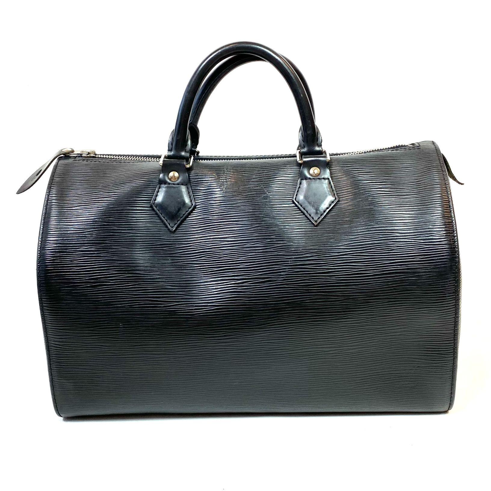 Bolsa Louis Vuitton Speedy 30 Epi Preta