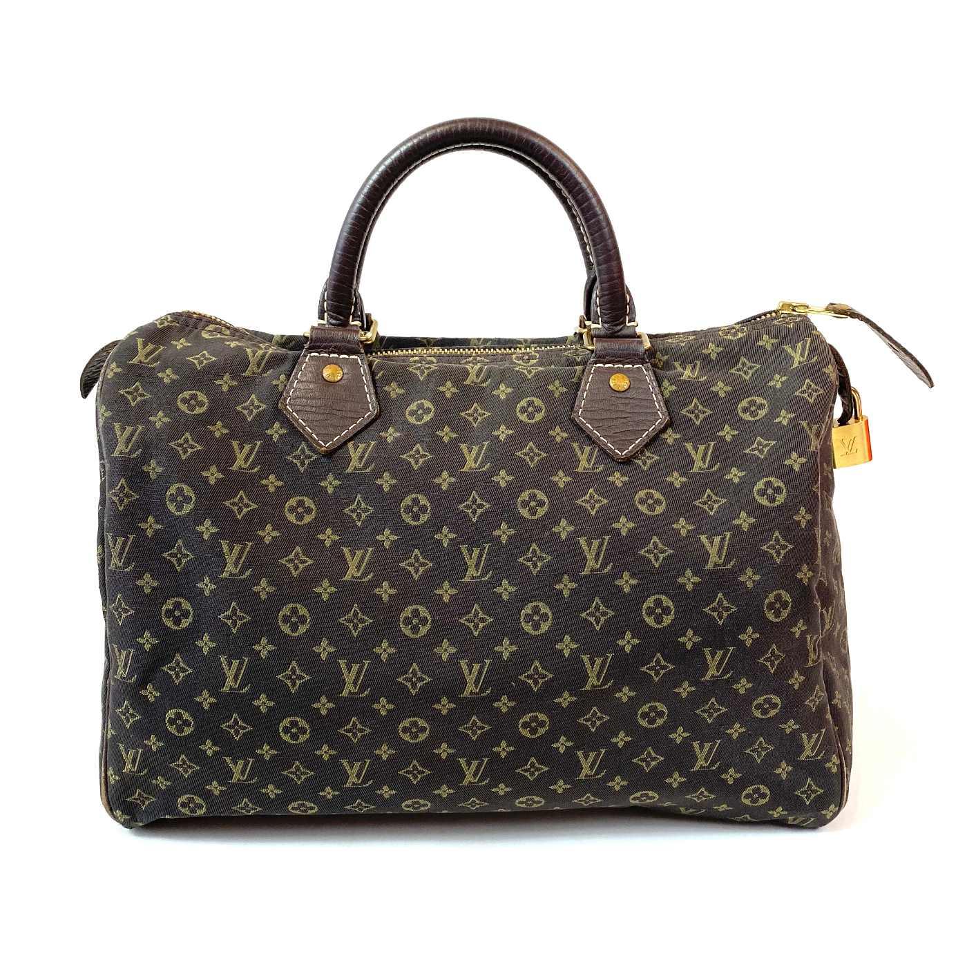 Bolsa Louis Vuitton Speedy 30 Mini Lin Damier Ebene