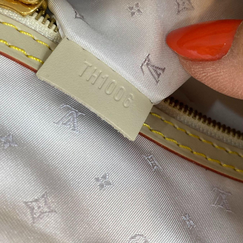 Bolsa Louis Vuitton Suhali Lockit MM Offwhite