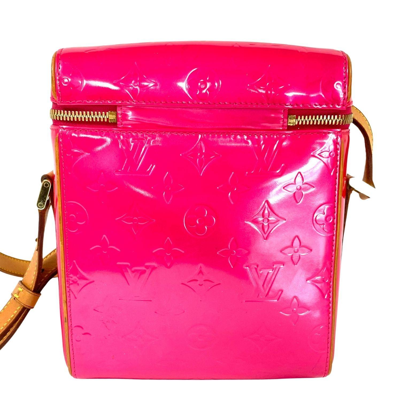 Bolsa Louis Vuitton Sullivan Verniz Pink