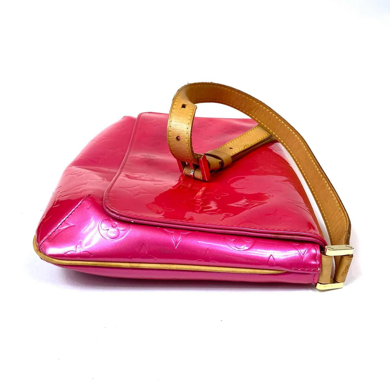 Bolsa Louis Vuitton Thompson Street Verniz Pink