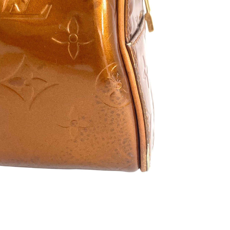 Bolsa Louis Vuitton Tompkins Square Monograma Verniz