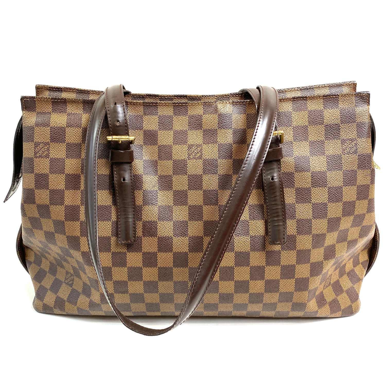 Bolsa Louis Vuitton Vintage Chelsea Damier Ebene
