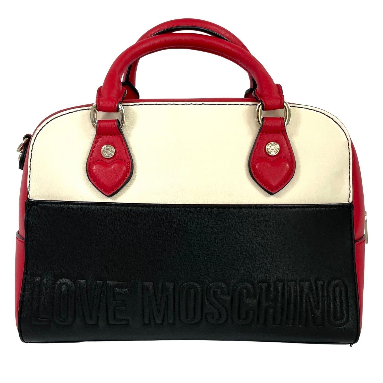 Bolsa Love Moschino Tote Tricolor