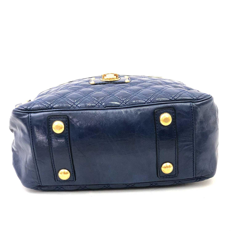 Bolsa Marc Jacobs Azul Matelassê