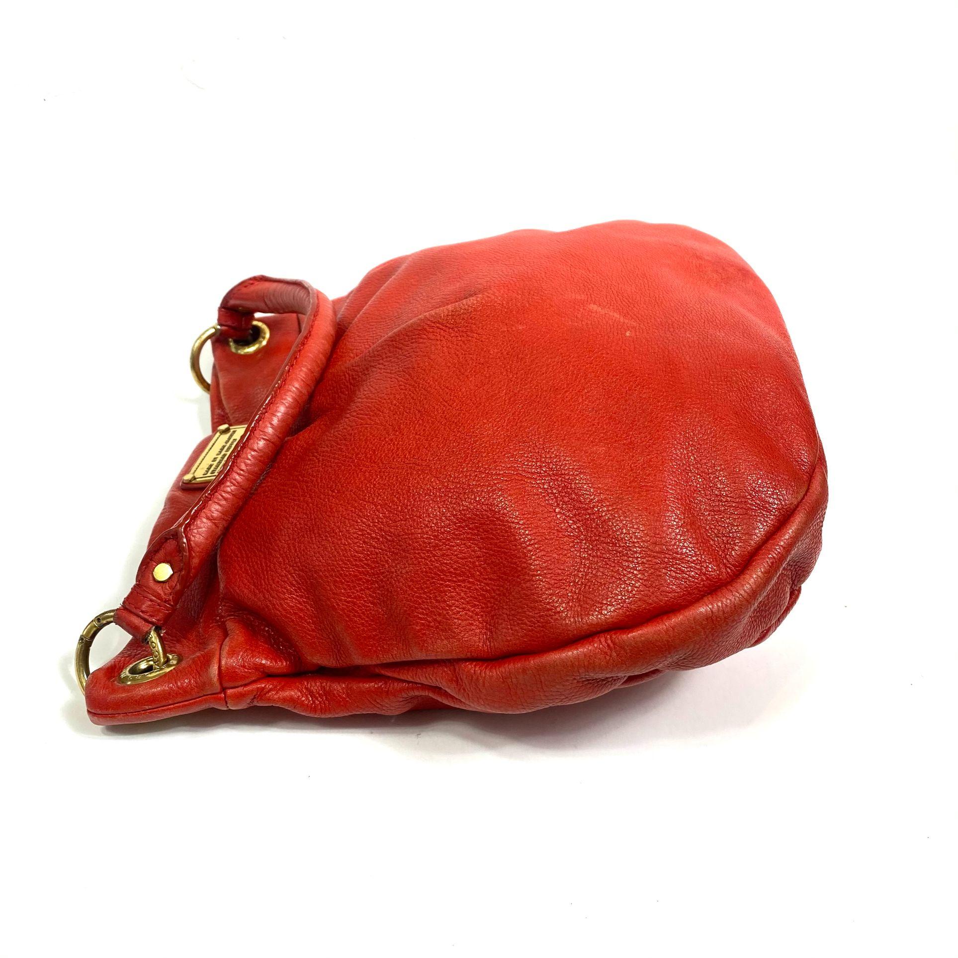 Bolsa Marc Jacobs Hillier Vermelha