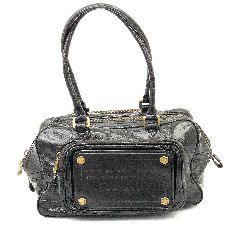 Bolsa Marc Jacobs Preta Type Workwear