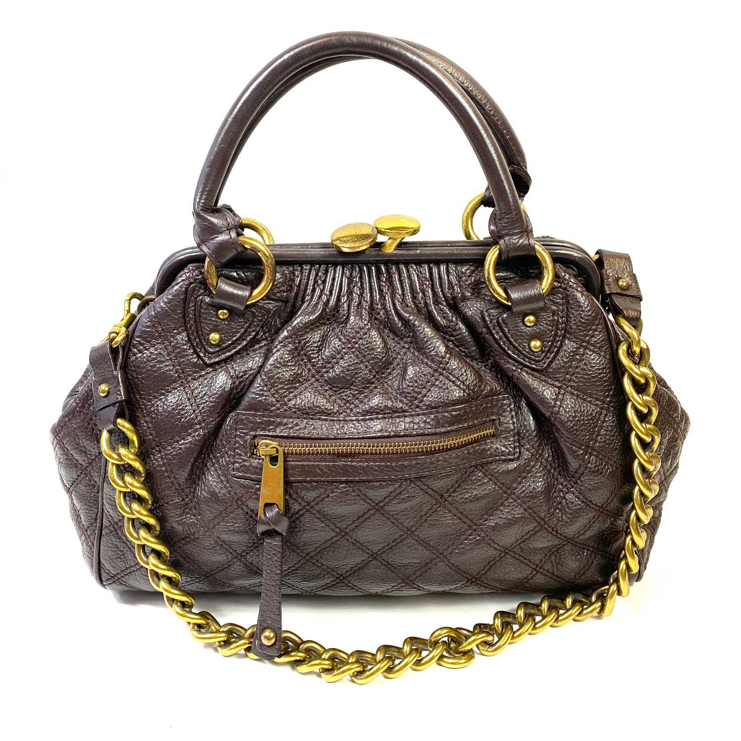 Bolsa Marc Jacobs Quilted Marrom