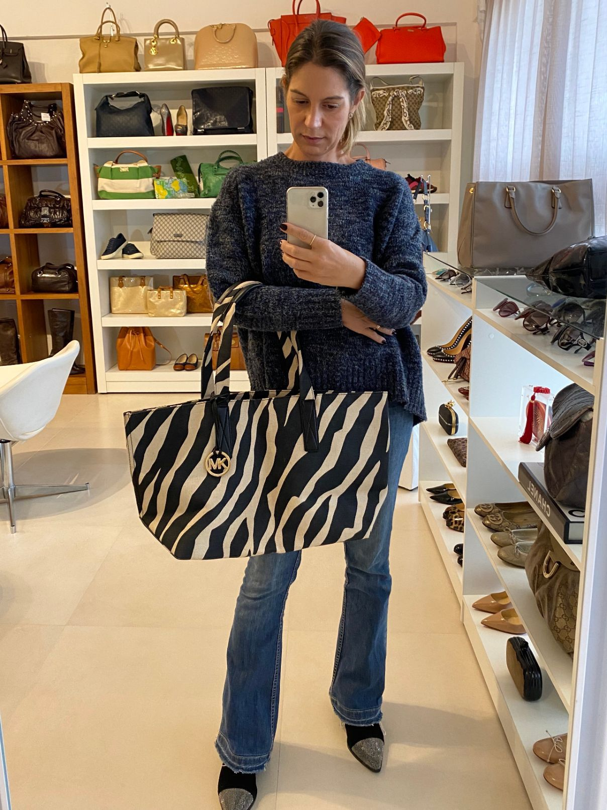 Bolsa Michael Kors Animal Print