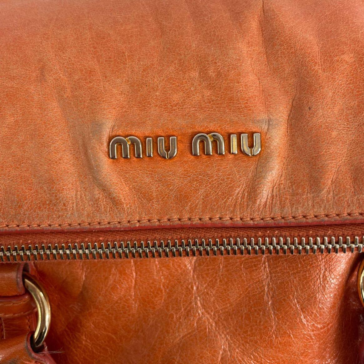 Bolsa Miu Miu Bow Vitello