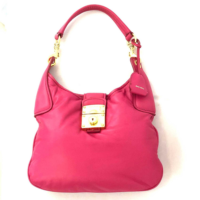 Bolsa Miu Miu Rosa Pink