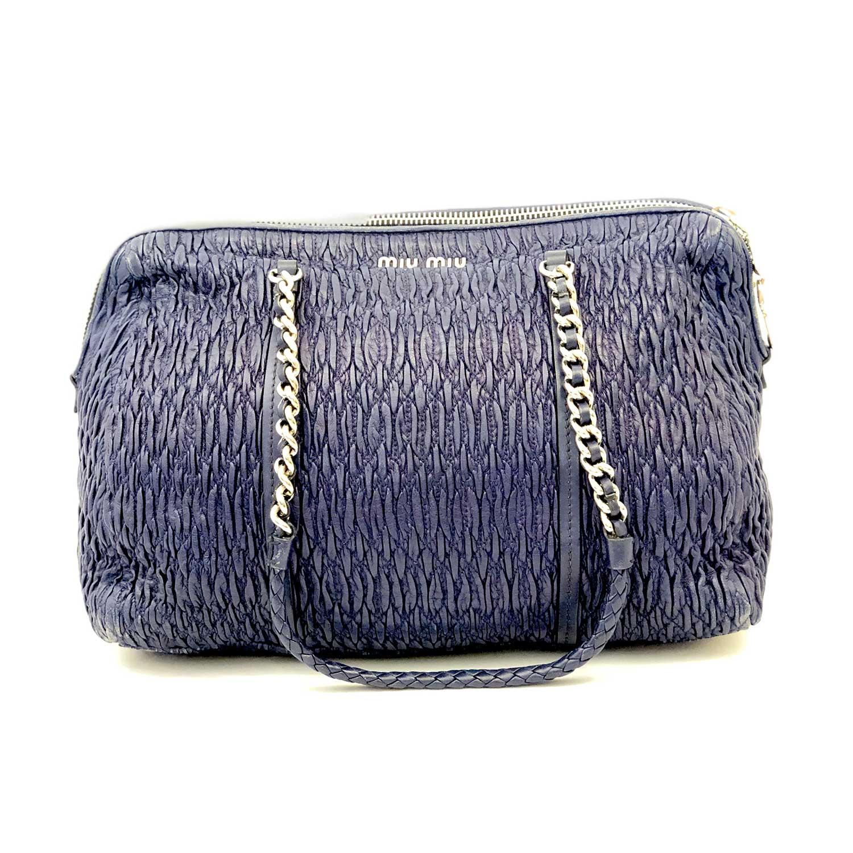 Bolsa Miu Miu Shoulder Azul
