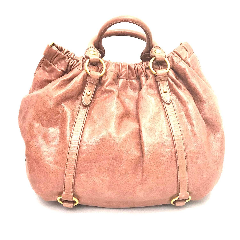 Bolsa Miu Miu Vitello Lux Rosé