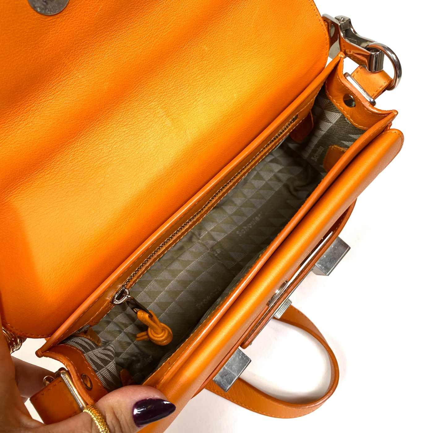Bolsa Proenza Schouler PS11 Mini Classic Laranja
