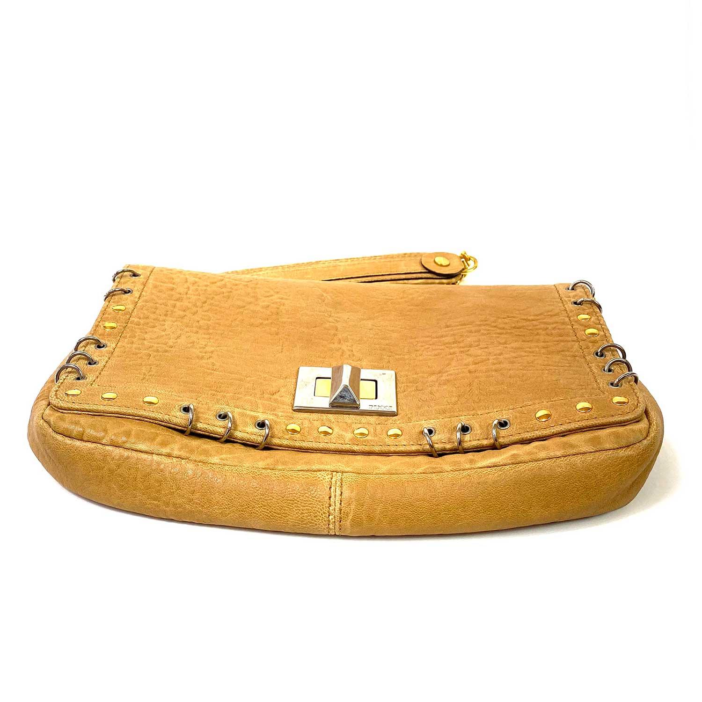 Bolsa Pucci Flap Bag Caramelo