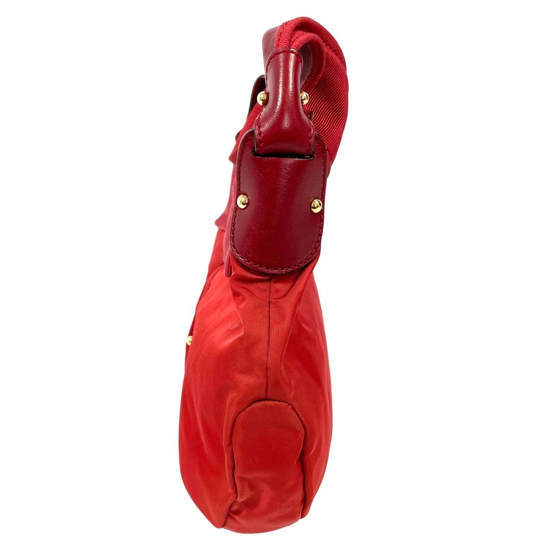 Bolsa Salvatore Ferragamo Nylon Vermelha