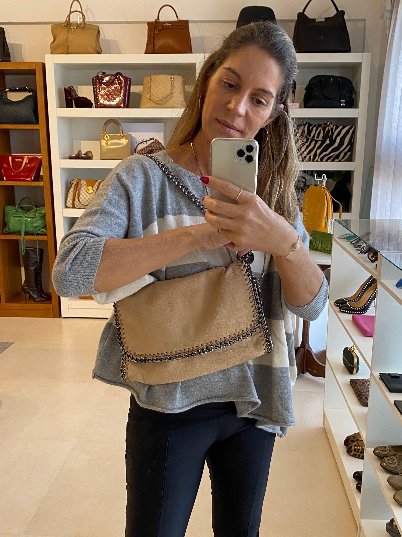 Bolsa Stella McCartney Falabella Beige