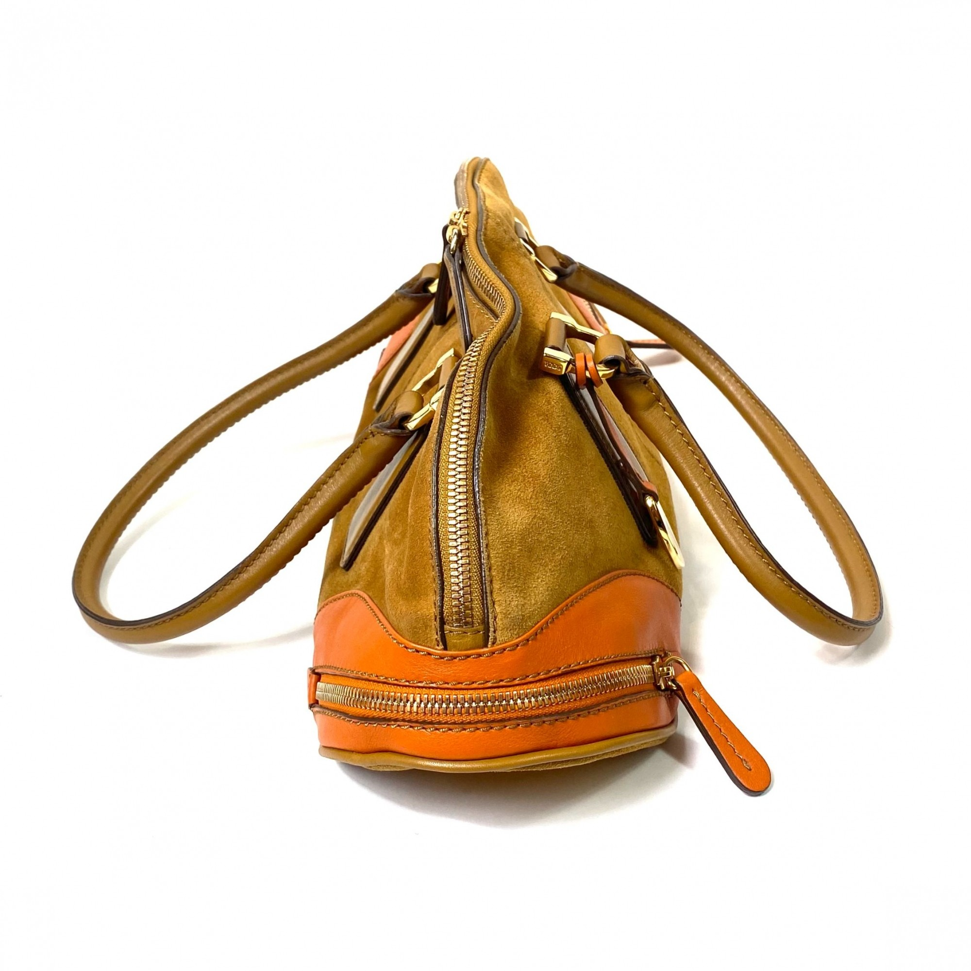 Bolsa Tod's Camurça Caramelo
