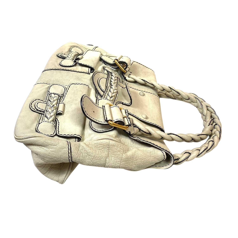 Bolsa Valentino Histoire Marfim