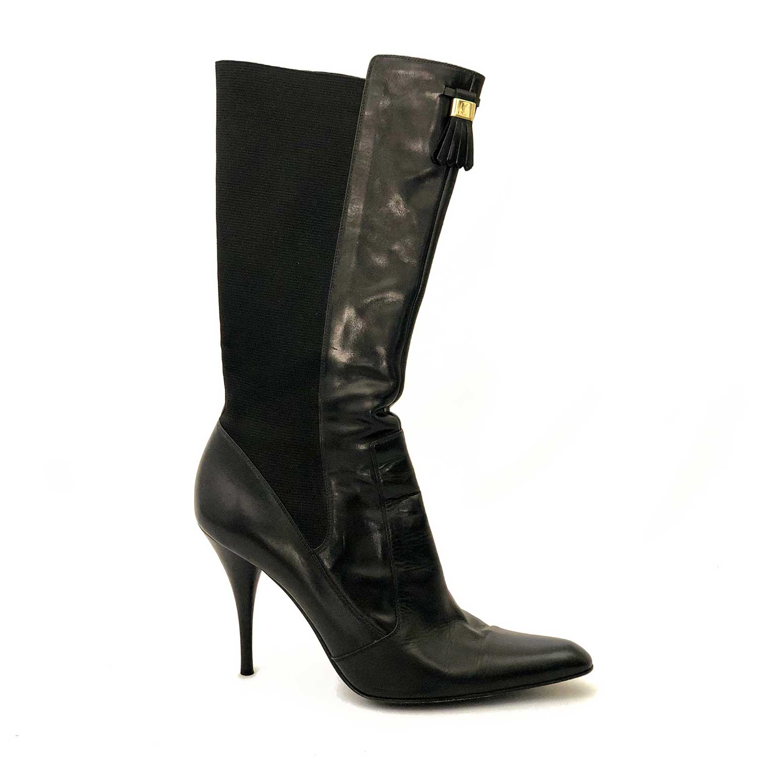 Bota Yves Saint Lauren Preta