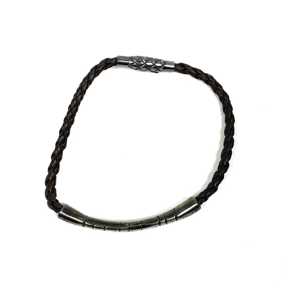 Bracelete Bottega Veneta Marrom